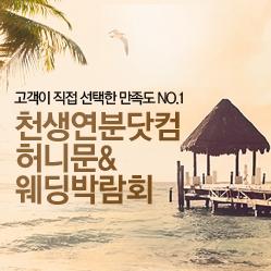 천생연분닷컴 허니문 웨딩박람회